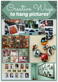 creative ways to hang pictures without frames | Creative ...