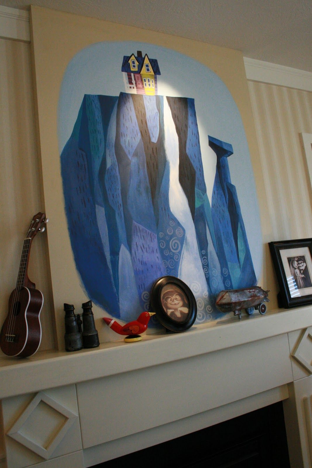 Disney Home Decor Groovy Mom Disney 39s Pixar Up House Interior Wild