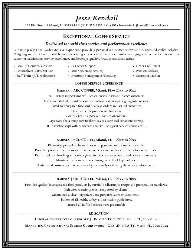 Best Bartending Resume Examples This is the best opportunity for - free bartender resume templates
