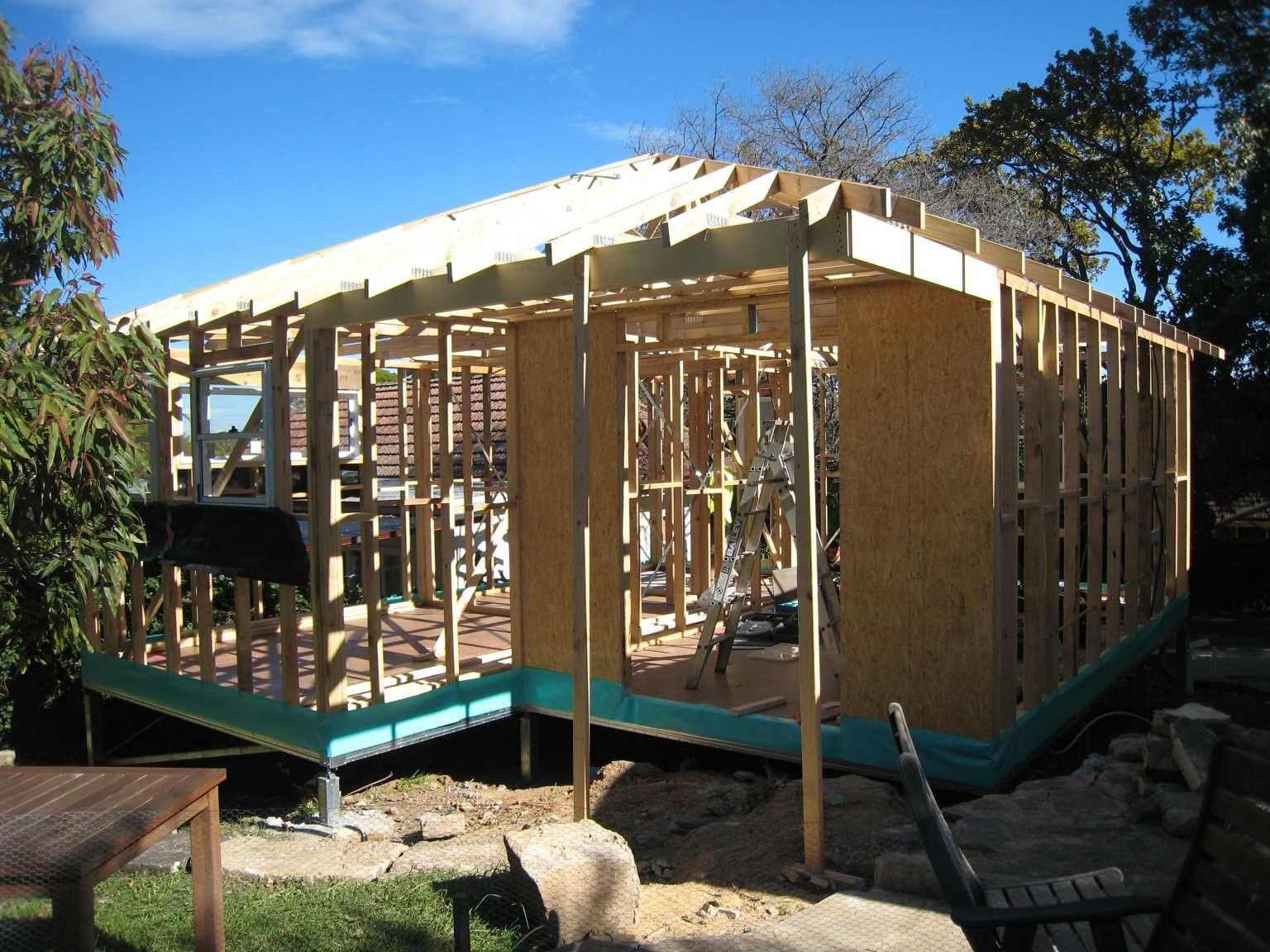 Timber Frames Australia Granny Flat In Normanhurst Nsw Timber Frame And Truss