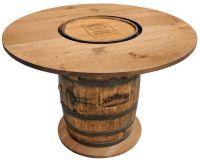 jack daniels whiskey barrel furniture ideas   For Bob ...
