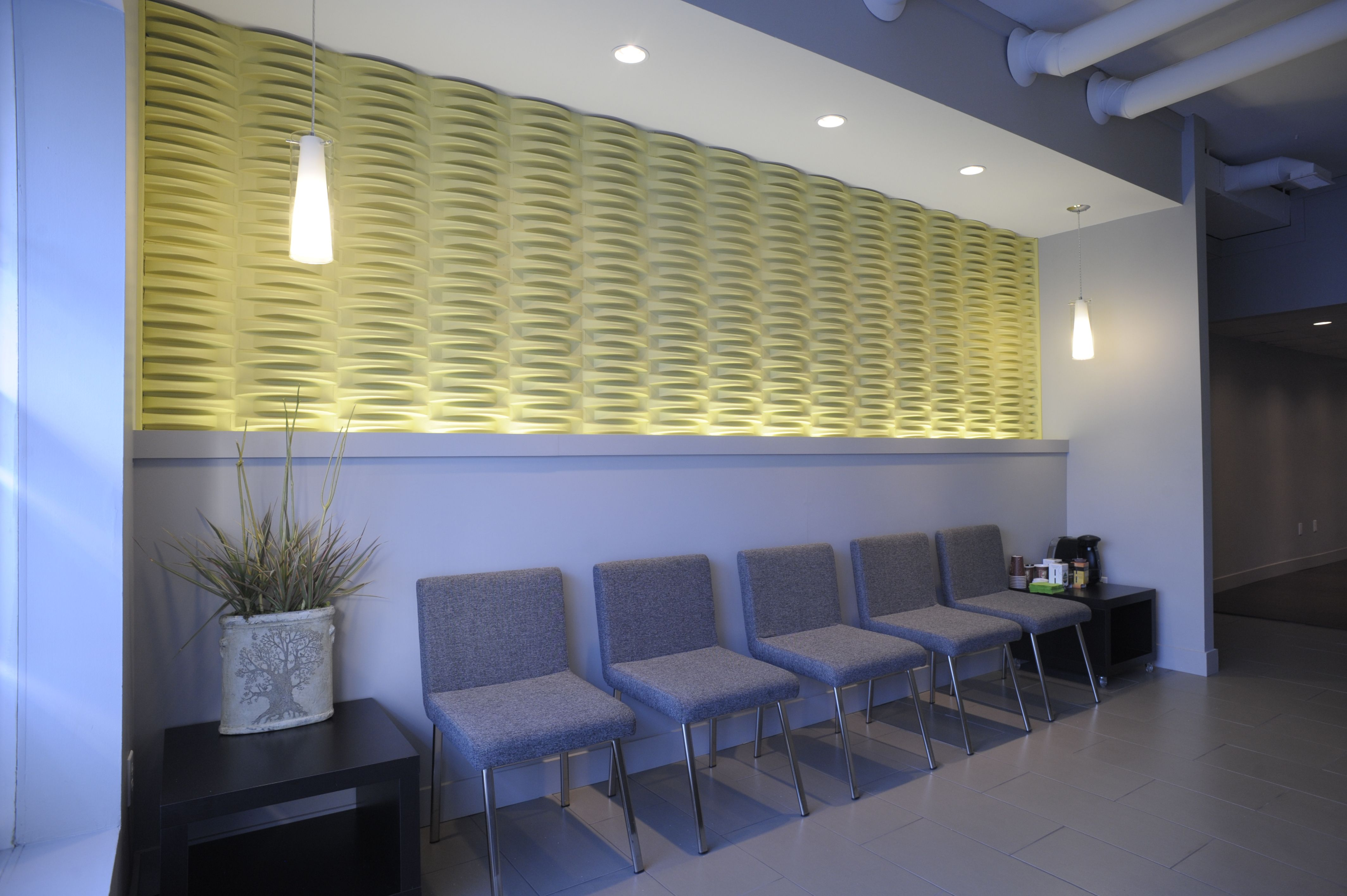 Paperforms 3d Wallpaper Tiles Acoustic Weave Wall Tiles Mio In Use Pinterest Wall