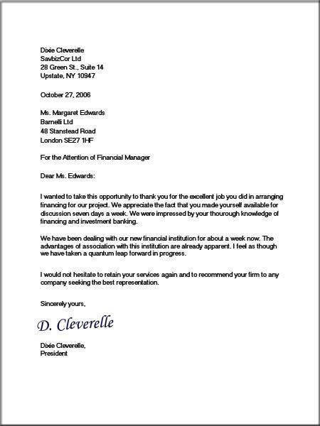 Printable Sample Proper Business Letter Format Form Real Estate - professional business letter