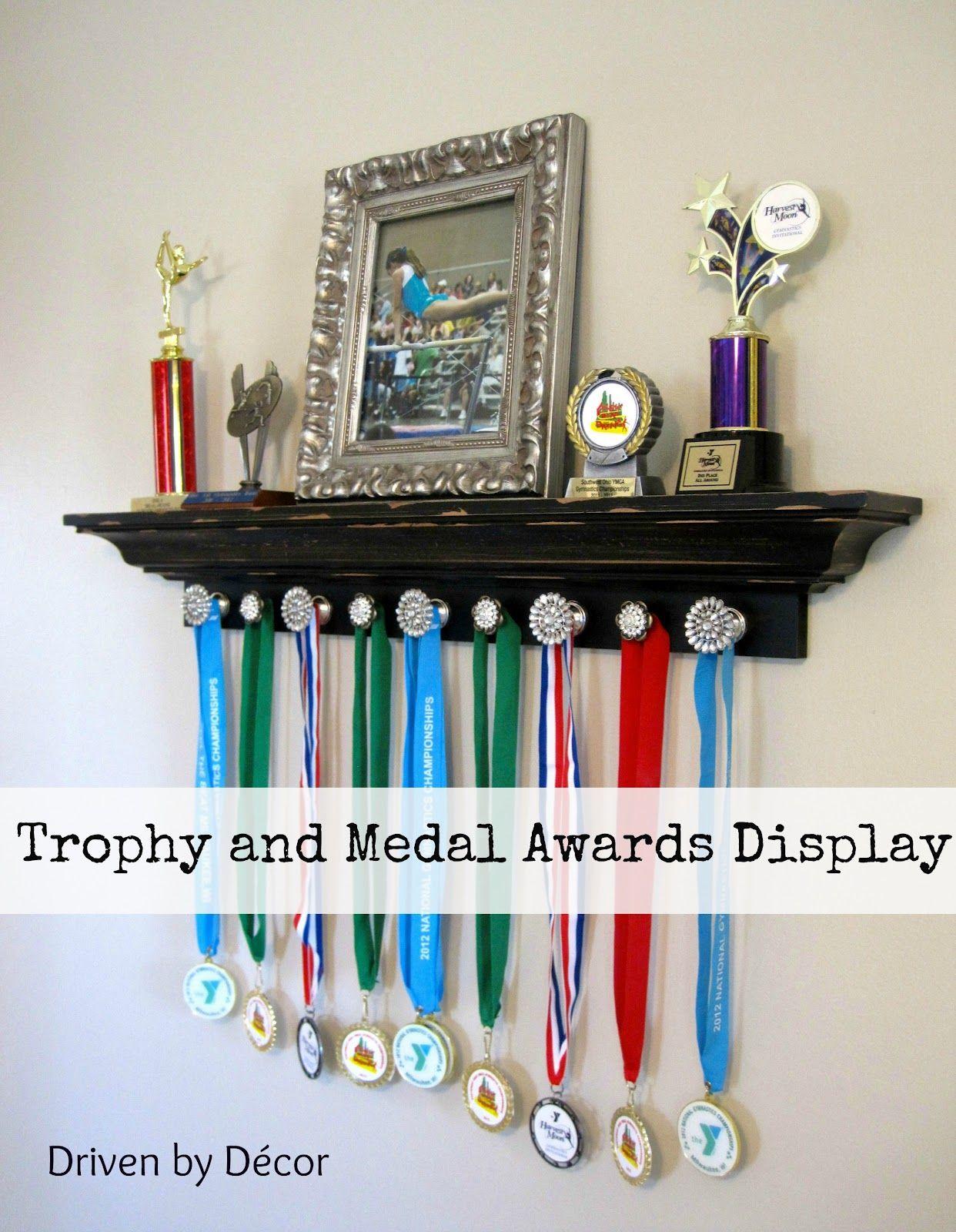 Trophy Shelf On Pinterest