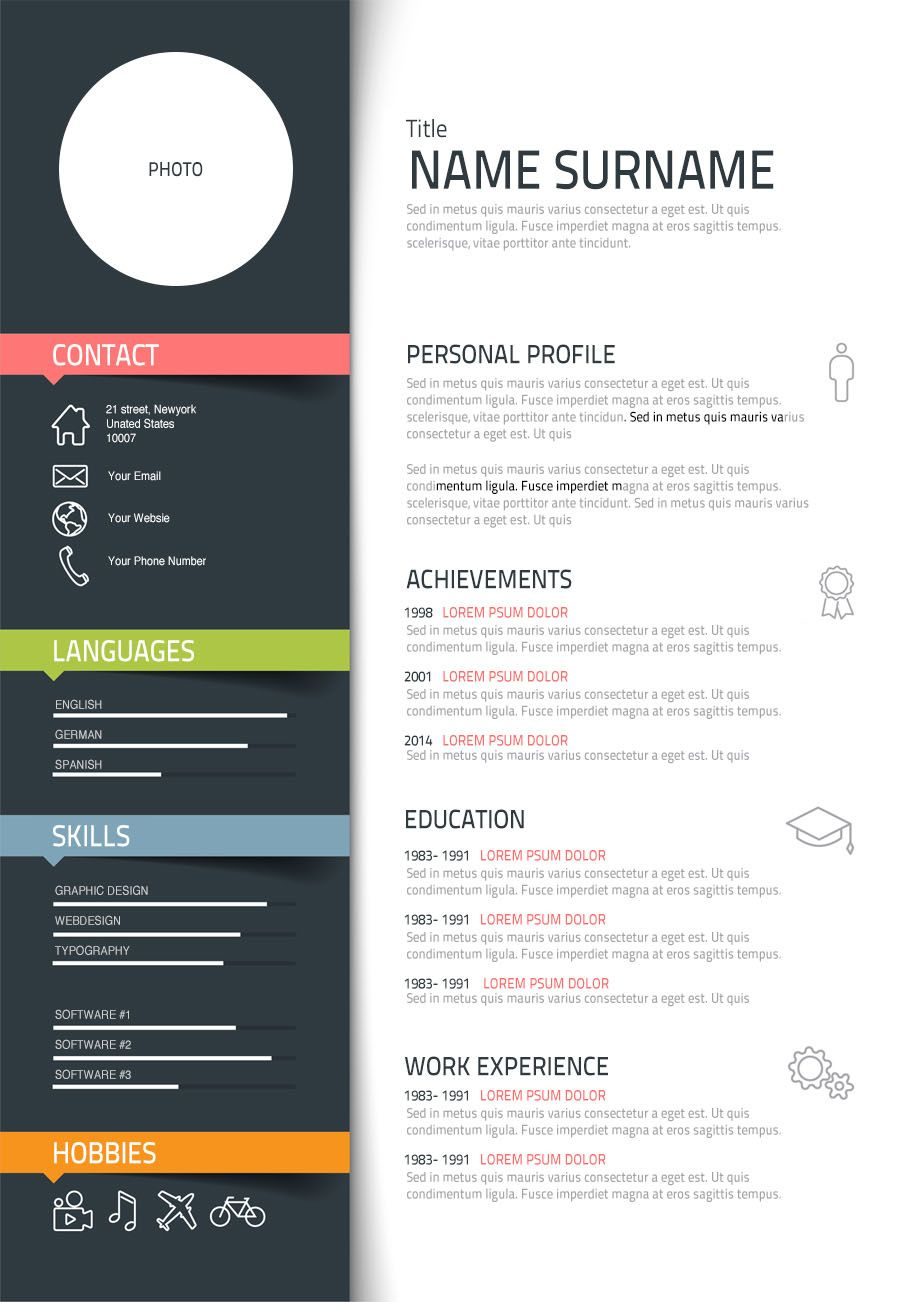 15 Free Creative Resume Templates For Photoshop And How To Create A High Impact Graphic Designer Resume Http