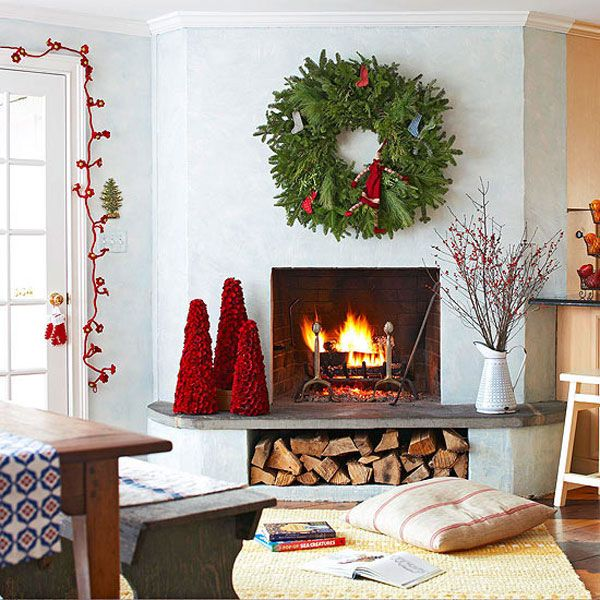 40 Amazing Christmas Decor Ideas For Small Spaces Christmas - christmas room decorations