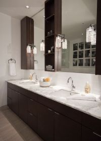 Espresso Vanity Cabinets, Transitional, Bathroom, The ...
