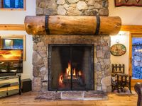log home stone fireplaces,log cabin fireplace,log home ...