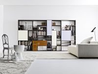 Contemporary Bookshelves Designs | Living Room | Pinterest ...