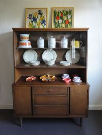 Mid Century China Cabinet Hutch Vintage Bassett. $295.00 ...