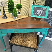 Teal and cheetah for my home office   Office   Pinterest ...