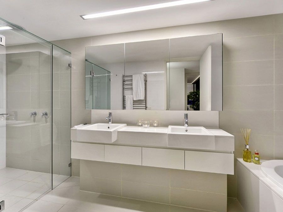 Large Bathroom Mirror #BIGArchitects Pinned by wwwmodlar - designer bathroom mirrors