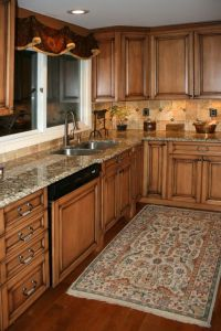 Maple Kitchen Cabinets on Pinterest | Maple Cabinets ...