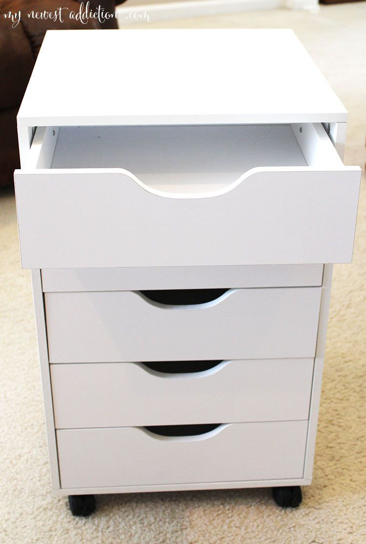 Mirrored Desk Ikea Best 25+ Ikea Makeup Drawers Ideas On Pinterest | Diy
