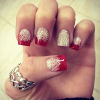 Fake Nails Designs Glittery | Fake Nails | Pinterest ...