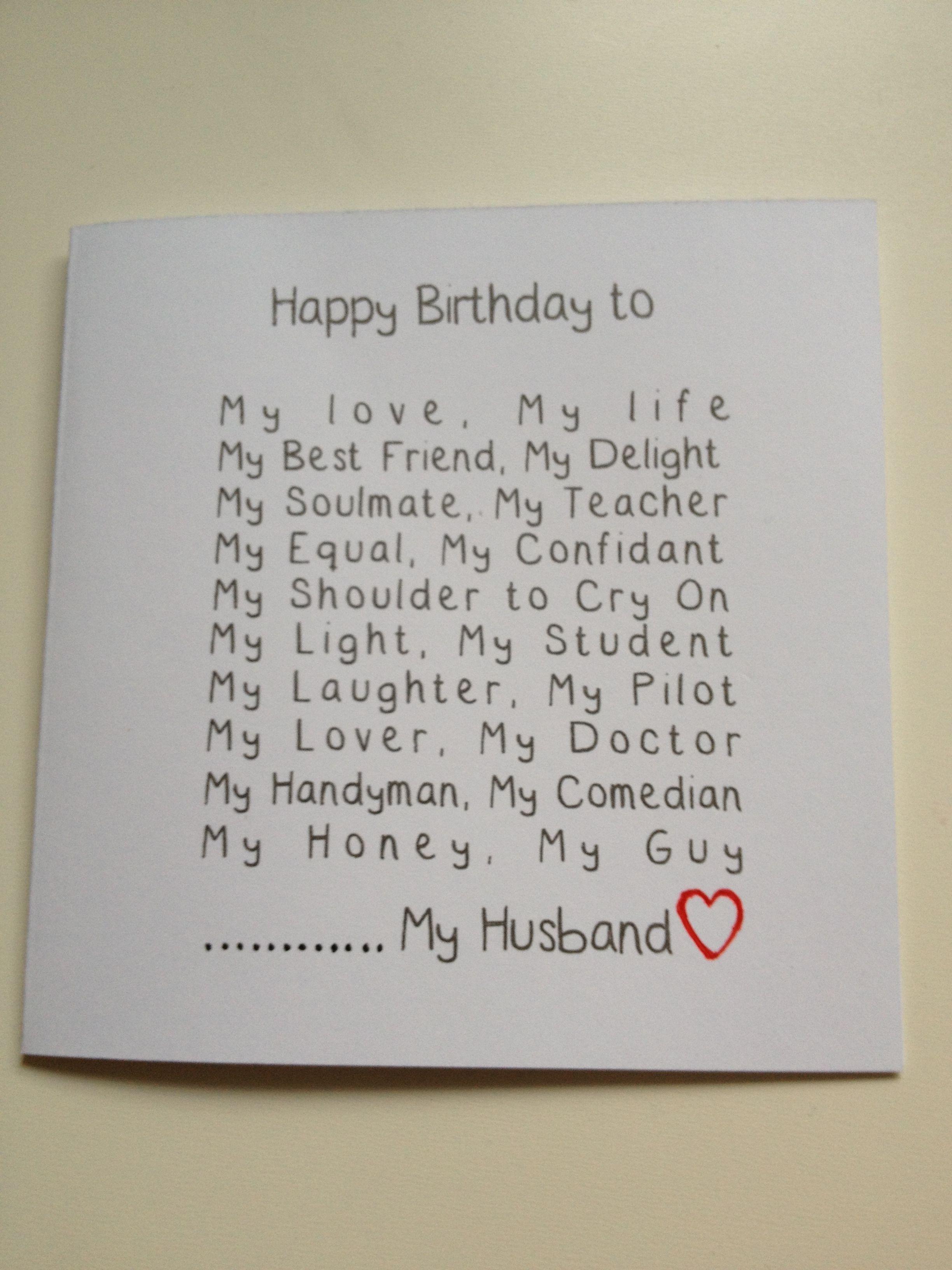 Birthday Gift Ideas For Husband Pinterest - Eskayalitim