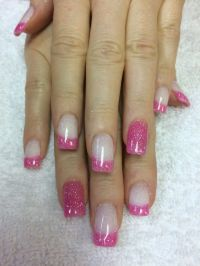 Valentine's SNS nails. Sugar and spice. | Nails ...