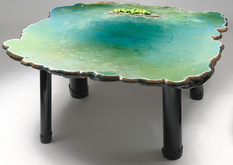 gaetano pesce six tables on water Furniture Pinterest - gaetano pesce tisch kollektion