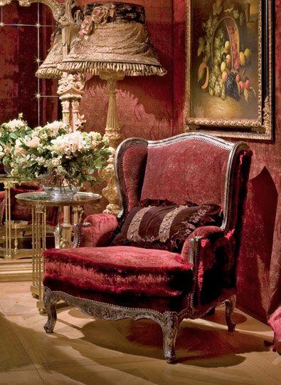 fontaine-sessel-Die-klassischen-italienischen-Möbel-Provasi - klassisch italienischen mobeln