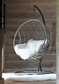 Indoor Outdoor Hanging Chair | Lovely things for house ...
