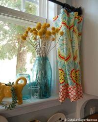 Best 25+ Teal kitchen curtains ideas on Pinterest | Teal ...