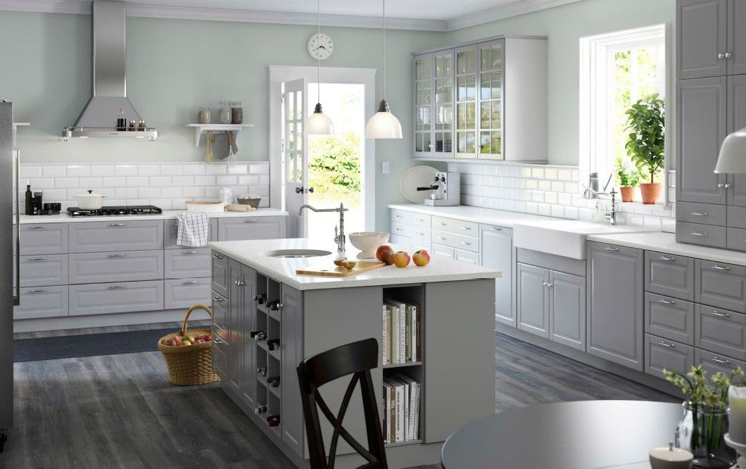 17+ Images About Ikea Kitchens On Pinterest | Grey, Brochures And