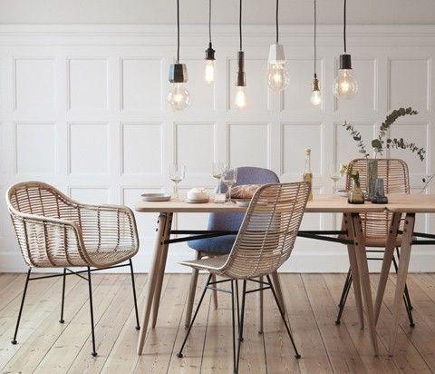 retro sessel, rattanstuhl, vintage sessel, rattansessel, design - designer stuhl esszimmer