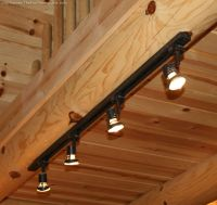 Rustic Log Home Lighting Bargains | Fun time, Logs and Cabin