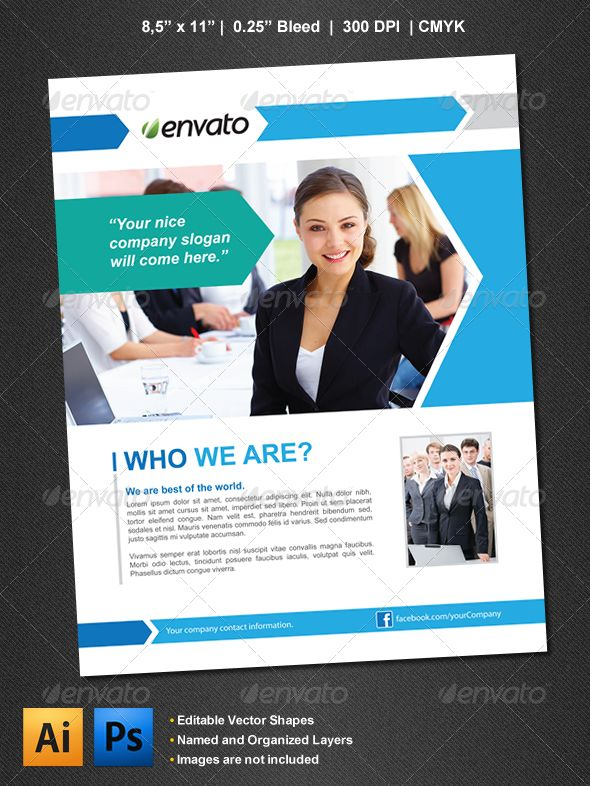 Corporate Flyer Business flyers, Cleaning companies and Business - corporate flyer template