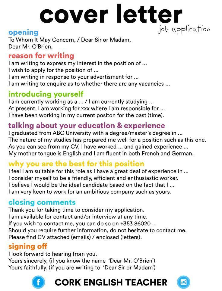 Make sure your cover letter stands out u2026 Pinteresu2026 - dental hygienist cover letter