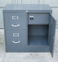 1950's Cole Steel file cabinet with safe | Filing, Steel ...