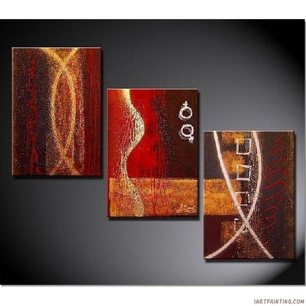 Schilderij Abstract Interieur Acrylic 43painting 43ideas Abstract Paintings 3pcs Canvas