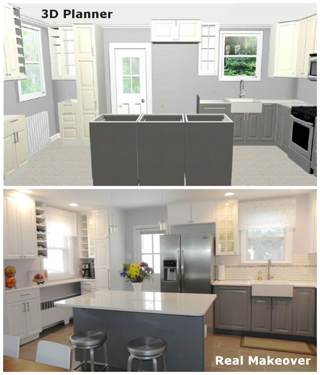 Home Planner For Ikea Full Version This Ikea Blogger Created Her Dream Kitchen In Ikea 3d