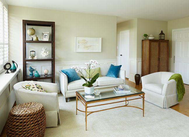 Refined by Design - Interior Design Toronto - Small scale - small scale living room furniture