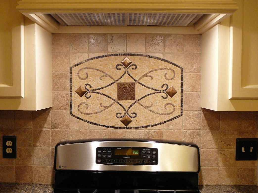 Backsplash Accent Ideas Tile Backsplash Ideas For Behind The Range Kitchen