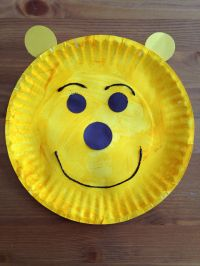 Paper Plate Winnie the Pooh Craft - Bear Craft - Preschool ...