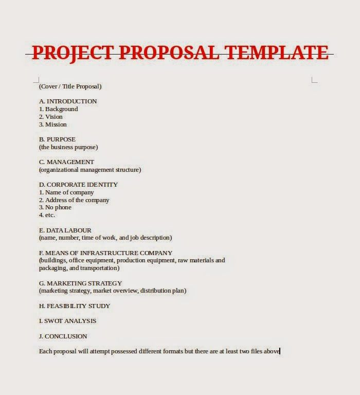 Case study thesis proposal - business project proposal template