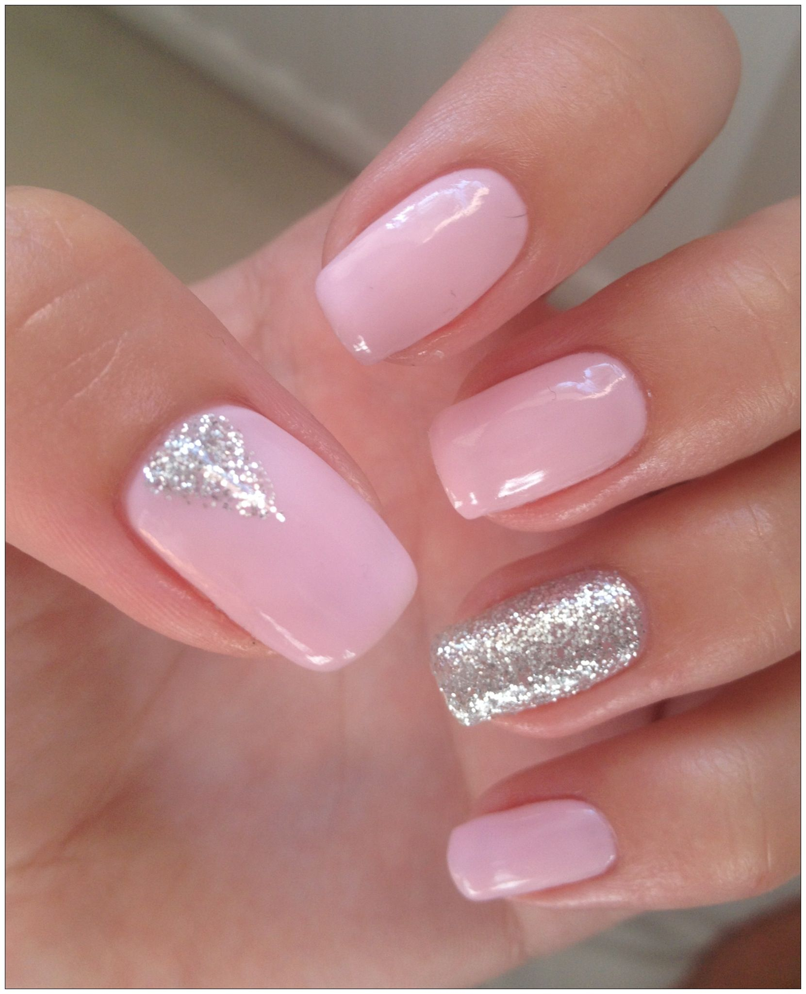 Art Design Bilder 100 Delicate Wedding Nail Designs Pink Glitter Nail