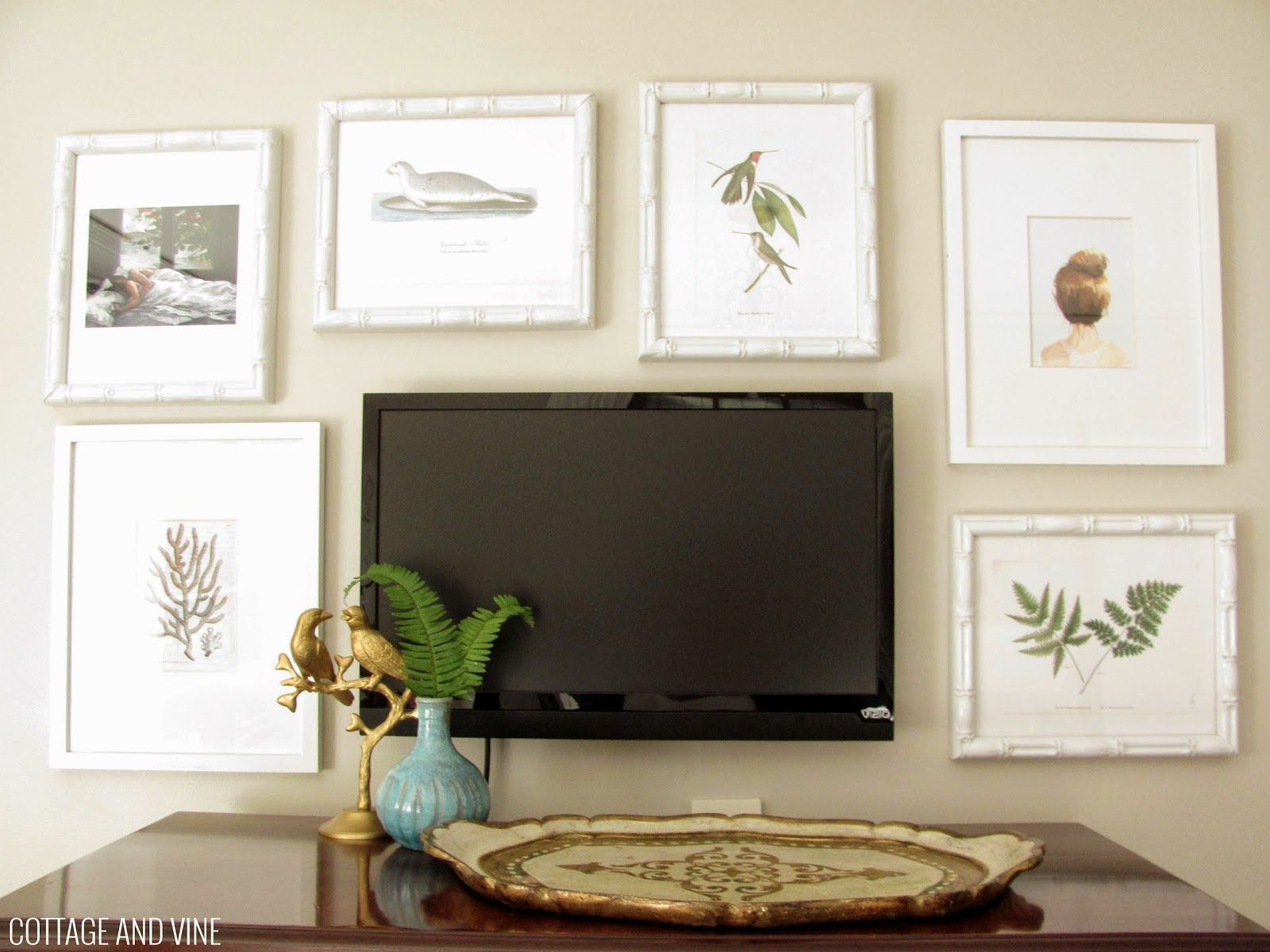 Tv On The Wall Ideas Tv Wall Decorating Ideas Pictures Flat Tv Mounted On