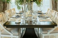 27 Modern Dining Table Setting Ideas | Table dressing ...