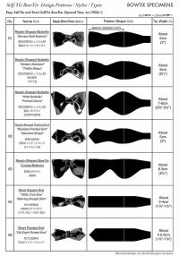 Self-Tie BowTie Styles Types Design Patterns,Easy & Short ...