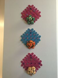 Wall art using craft sticks - jumbo sized ice cream sticks ...