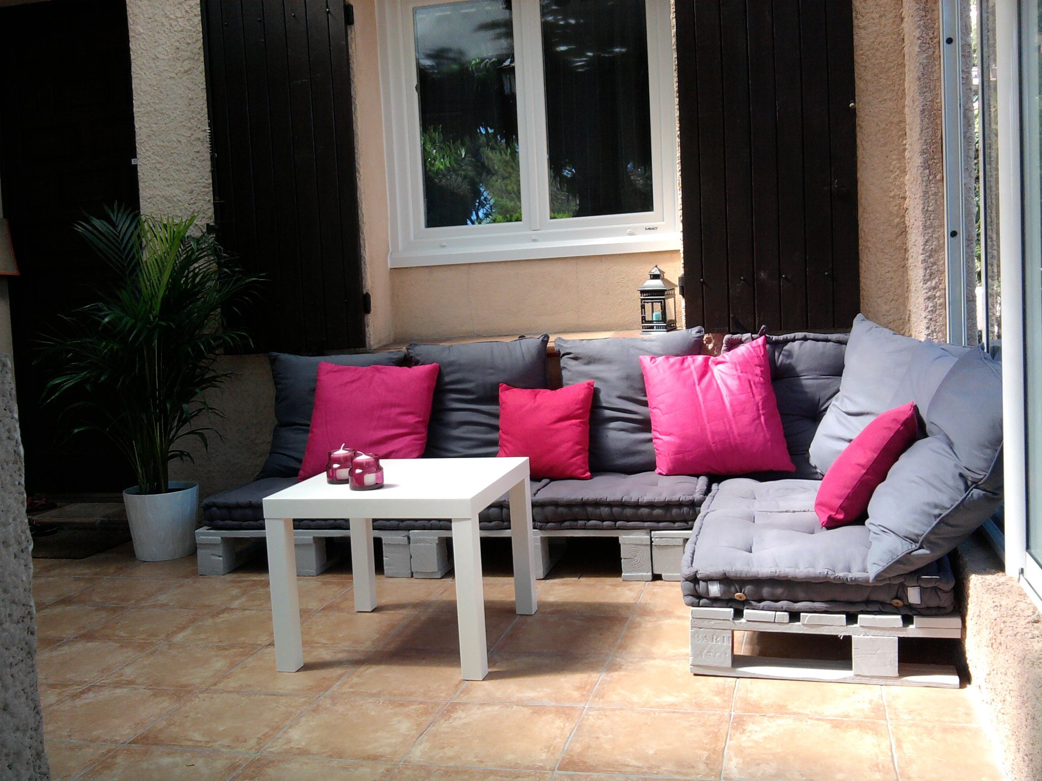 Pinterest Salon De Jardin Salon De Jardin En Palettes Instructions De Montage