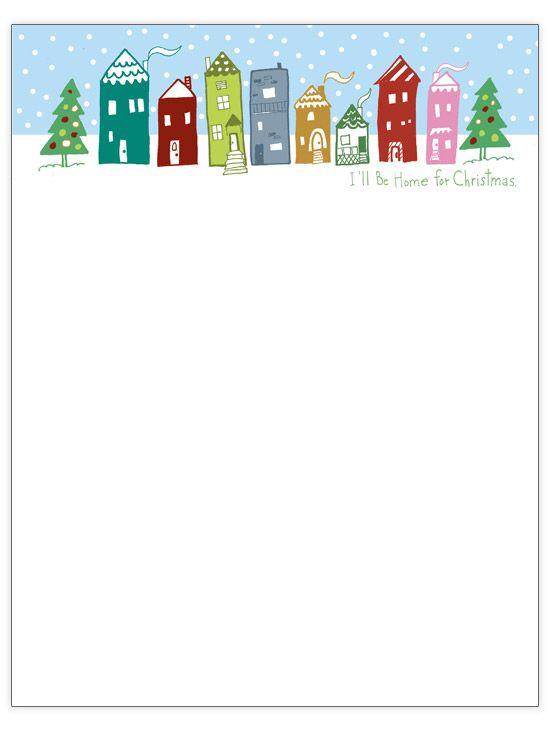 Free Christmas Letter Templates Christmas letters, Template and - christmas letterhead templates word