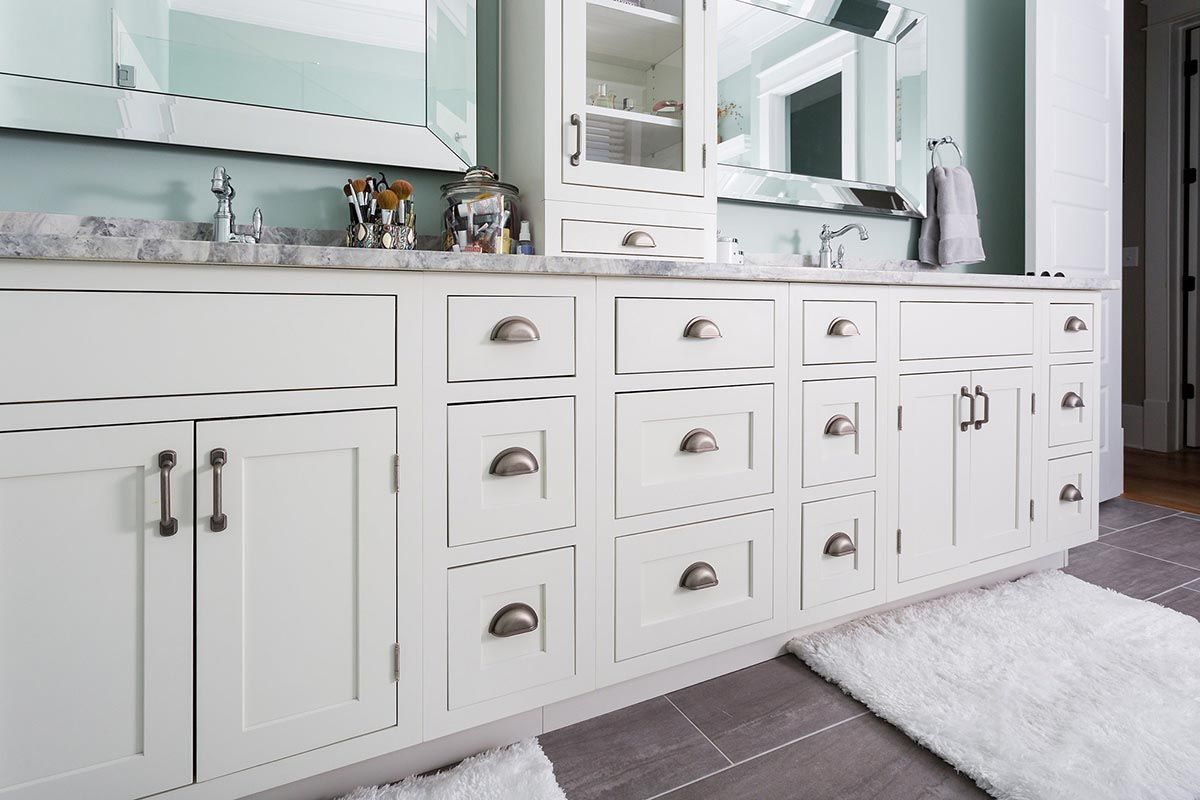 Bathroom Kitchen Cabinets Beautifully Designed New Construction Home Features Master