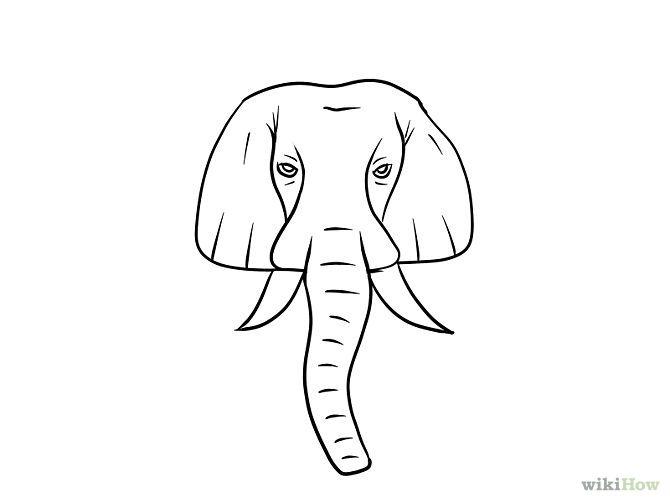 4 ways to draw an elephant