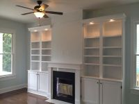 Shelves Next to Fireplace | Fireplace & Shelves | Flickr ...