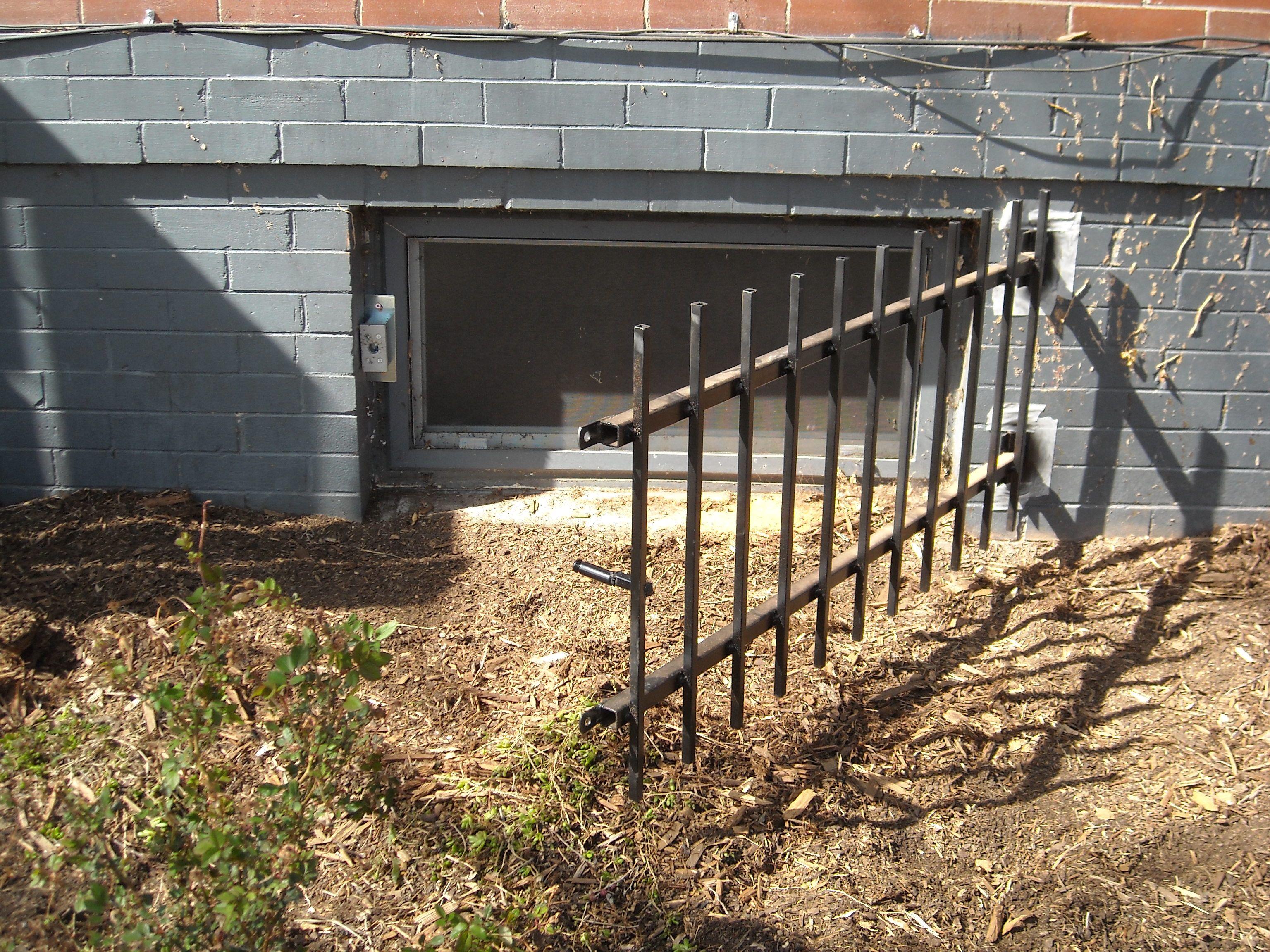 Decorative Basement Window Security Bars Ideas