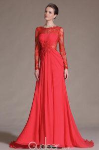Red Long Sleeve Dress | Engagement Dress | Pinterest ...