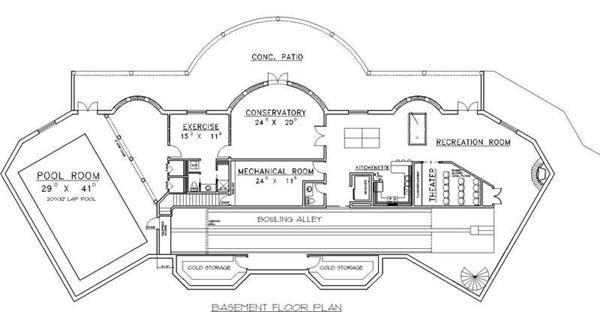 bowling alley diagram